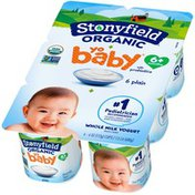 Stonyfield® Organic YoBaby Plain Whole Milk Yogurt with Probiotics