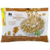 Food Lion Cereal, Honey Nut, Tasteeos, Bag