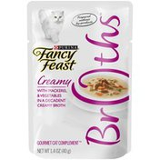 Fancy Feast Classic Broths With Chicken, Vegetables & Whitefish Supplemental Cat Food