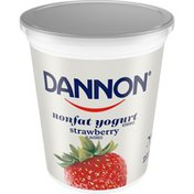 Dannon Strawberry Nonfat Yogurt