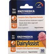 Enzymedica Dairy Assist, Capsules