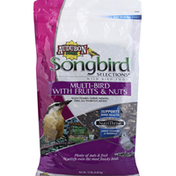 Audubon Park Wild Bird Food, Multi-Bird, with Fruits & Nuts