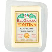 BelGioioso Fontina Cheese Wedge