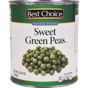 Best Choice Packed Fresh Sweet Green Peas