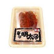 Shirakiku Seasoned Pollack Roe Spicy, Karashi Mentaiko
