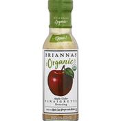 Brianna's Vinaigrette Dressing, Organic, Apple Cider