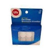 Life Brand Soft Silicone Ear Plugs