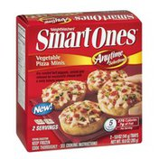 Weight Watchers Anytime Selections Vegetable Pizza Minis