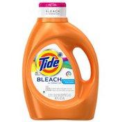 Tide Plus Bleach Alternative Clean Breeze Scent Liquid Laundry Detergent, 92 oz, 48 loads Laundry