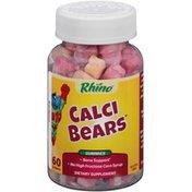 Rhino Calci Bears Gummies Dietary Supplement