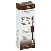Mineral Fusion Gray Root Concealer, for Hair, Dark Brown