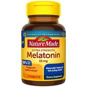 Nature Made Melatonin 10 mg Extra Strength Tablets