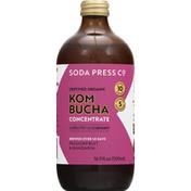 Soda Press Kombucha, Concentrate, Organic, Passionfruit & Mandarin