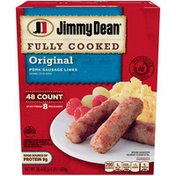 Jimmy Dean Fully Cooked Original Pork Sausage Links, 48 Count