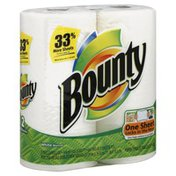 Bounty Basic Paper Towels, 2-Ply, White