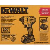 Dewalt Driver Kit, Compact Impact, 1/4 Inch
