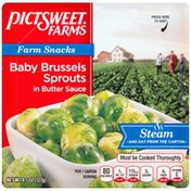 Pictsweet Farms in Butter Sauce Baby Brussels Sprouts