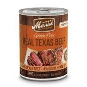 Merrick Grain Free Real Texas Beef Wet Dog Food