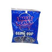 Charms Blow Pop Blue Razzberry Lollipop