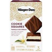 Haagen-Dazs Vanilla Cookie Squares – Rich and Creamy Frozen Ice Cream