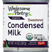 Whole-Some Pantry Condensed Milk, Organic, Sweetened