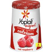 Yoplait Original Yogurt, Red Raspberry, Low Fat Yogurt