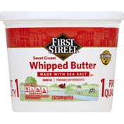 First Street Butter, Whipped, Sweet Cream