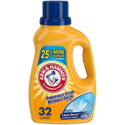 Arm & Hammer Clean Burst, 32 Loads Liquid Laundry Detergent,