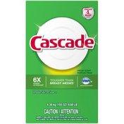 Cascade Powder Dishwasher Detergent, Fresh Scent Dish Care