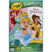 Crayola Coloring Pages, Disney Princess, Giant