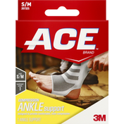 Ace Bakery Compression Ankle Support S/M