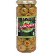 Best Choice Spanish Manzanilla Placed Stuffed Manz Olives