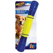 """NERF DOG 11.5"""" Crunch Squeak Stick Dog Toy"""