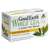 Good Earth White Tea & Green Tea Blend, Decaffeinated