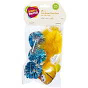 Leaps & Bounds Multipack Fish Cat Toy