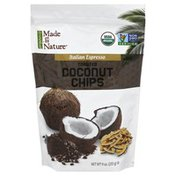 Made in Nature Coconut Chips, Toasted, Italian Espresso