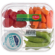 Del Monte Veg Tray, with Litehouse Ranch Dip