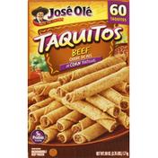 José Olé Taquitos In Corn Tortillas Beef