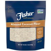 Fisher Finely Ground Almond Coconut Flour