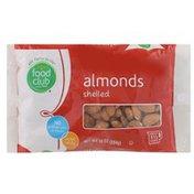 Food Club Almonds, Shelled