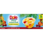 Dole Cherry Mixed Fruit, Fruit Juice Fruit Cups