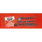 Maruchan Ramen Noodle Soup Chicken - 6 Pk