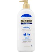 Gold Bond Skin Therapy Lotion, Healing, Aloe