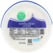 Food Club Vanilla Bean Ice Cream