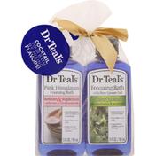Dr. Teal's Foaming Bath, with Pure Epsom Salt, Pink Himalayan/Eucalyptus & Spearmint