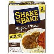 Shake 'N Bake Original Pork Seasoned Coating Mix Value Size
