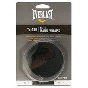 Everlast 180 Pro Hand Wraps - Black