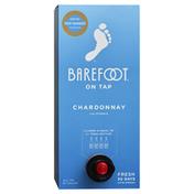 Barefoot On Tap Chardonnay White Wine Box Wine