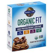 Garden of Life High Protein Bar, Weight Loss, Peanut Butter Chocolate
