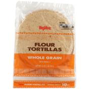 Hy-Vee Whole Grain Flour Tortillas